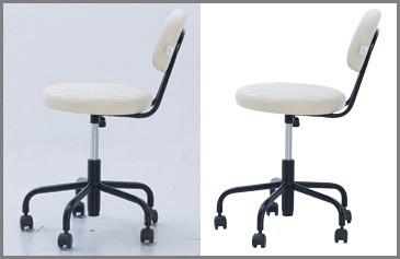 Medium Clipping Path - chair