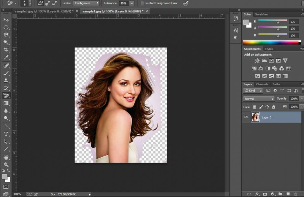 Remove background- step-3